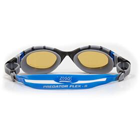 Zoggs Predator Flex Polarized Ultra Goggles L black/blue/copper polarized